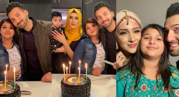 Sham Idrees Celebrated Birthday With Family 13
