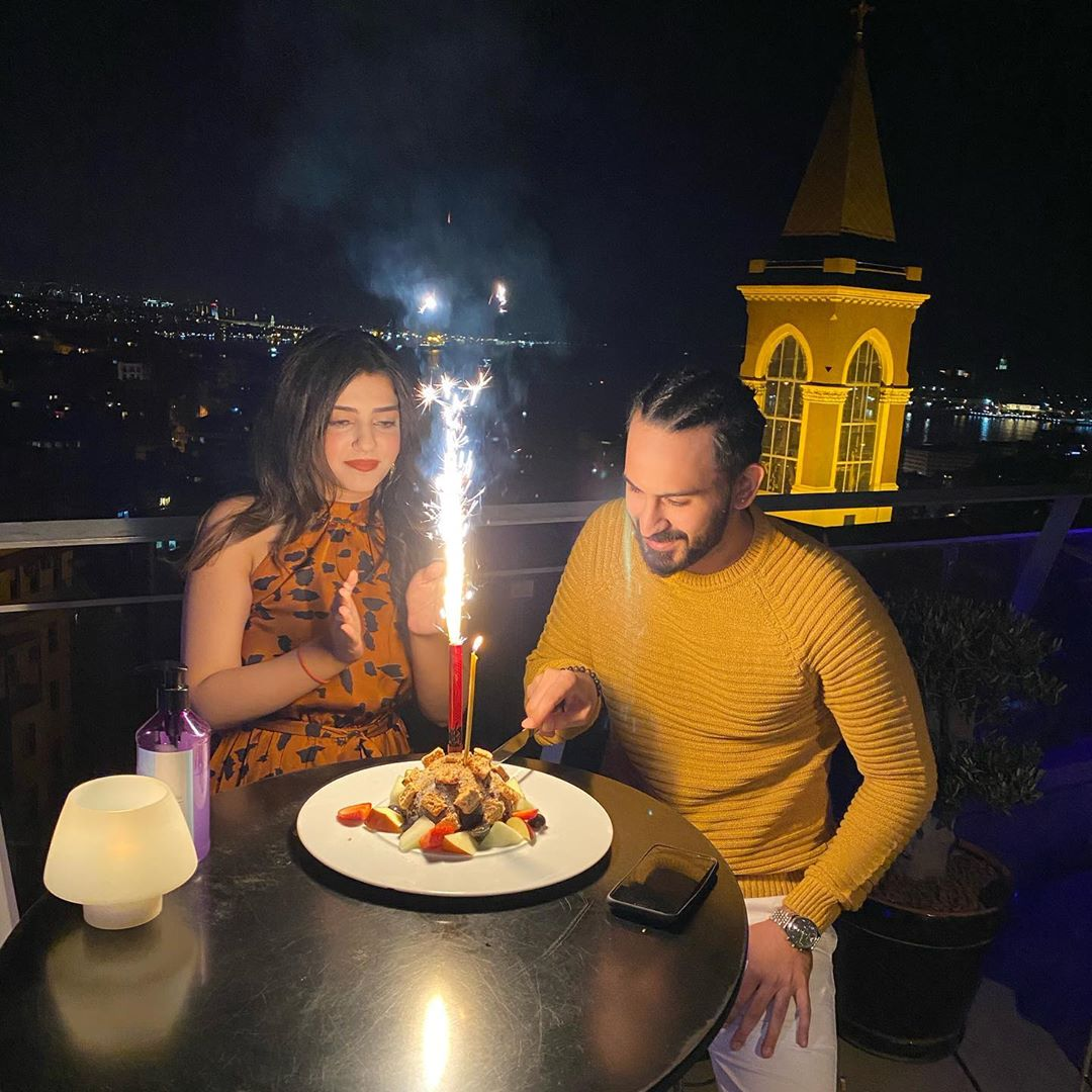 Actor Shan Baig Wife Michelle Celebrated his Birthday in Istanbul