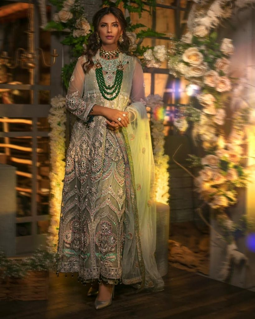 Sunita Marshall In Flora Extension Collection By Saira Noor