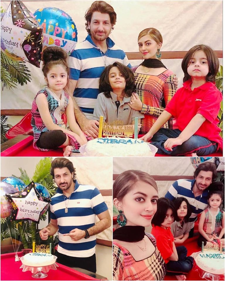 Syed Jibran Celebrated his Birthday with Family