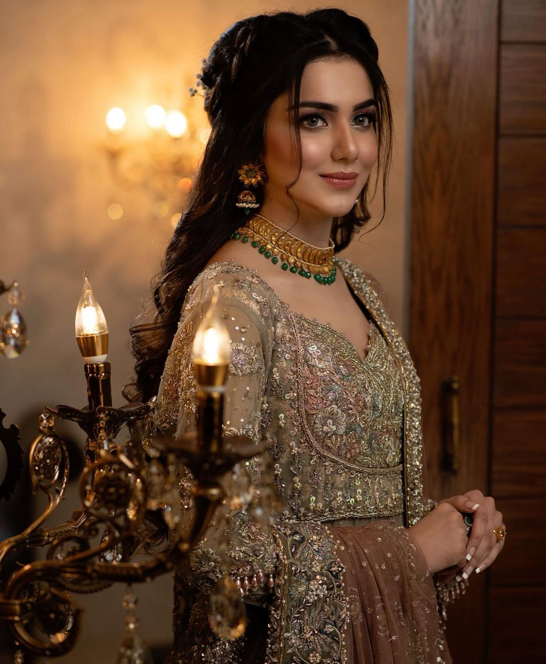Syeda Tuba Aamir Latest Bridal Photoshoot for Furqan Salon