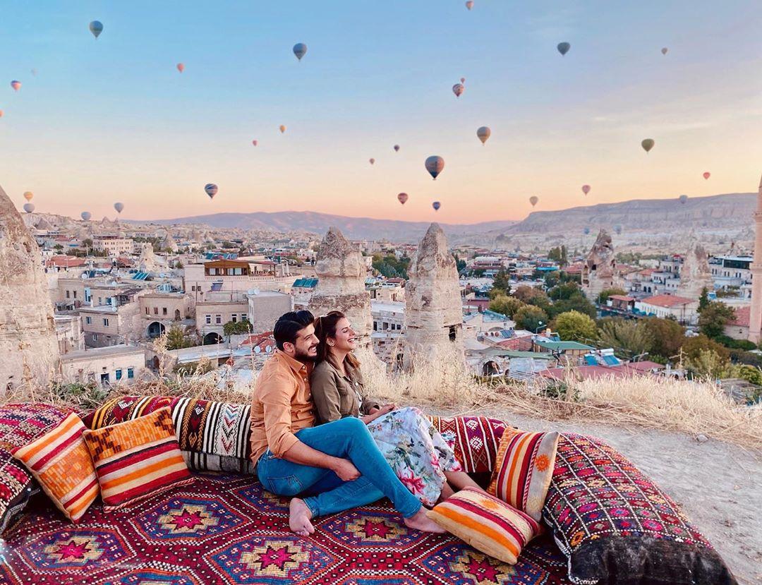 Model Waliya Najib Latest Pictures from her Trip to Turkey