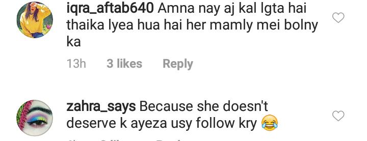 Complete Story Behind Ugly Fight Of Ayeza Khan And Amna Ilyas