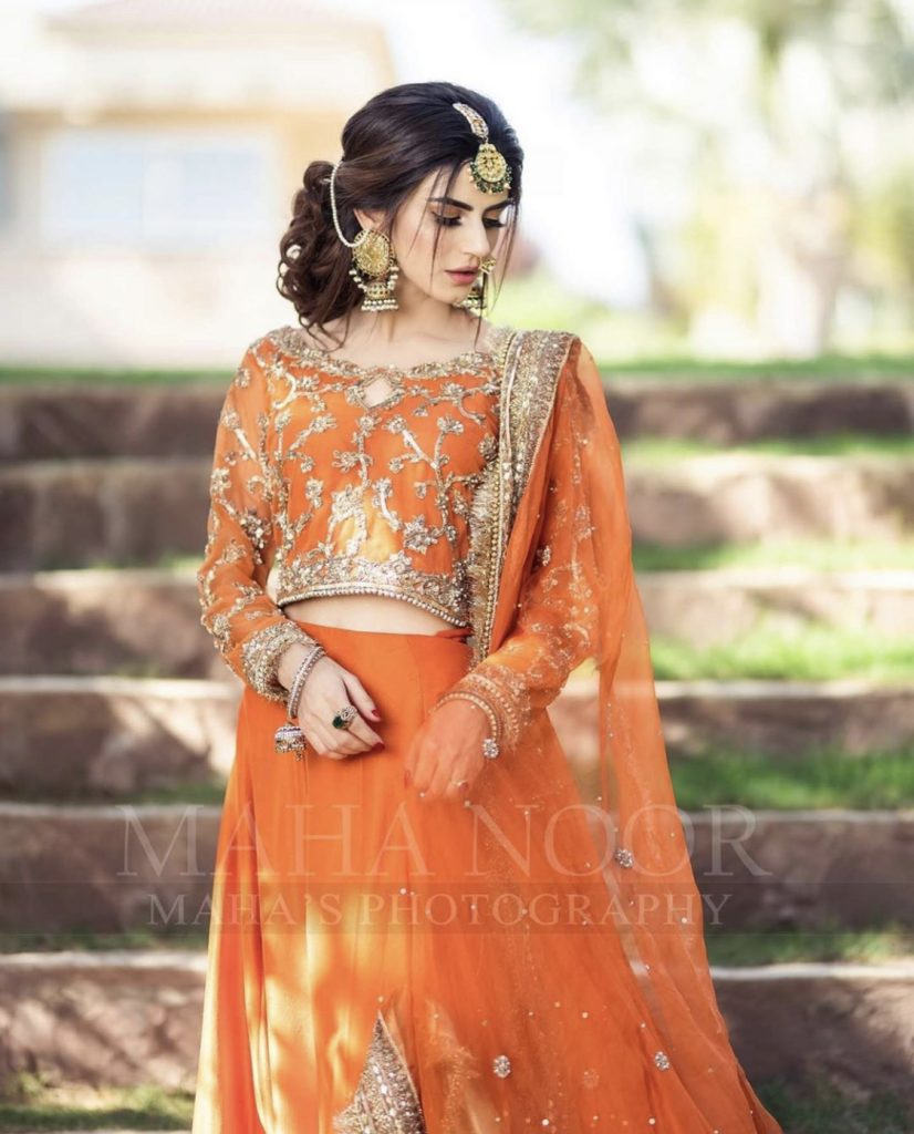 Stunning Bridal Pictures Of Zubab Rana For Faiza Salon