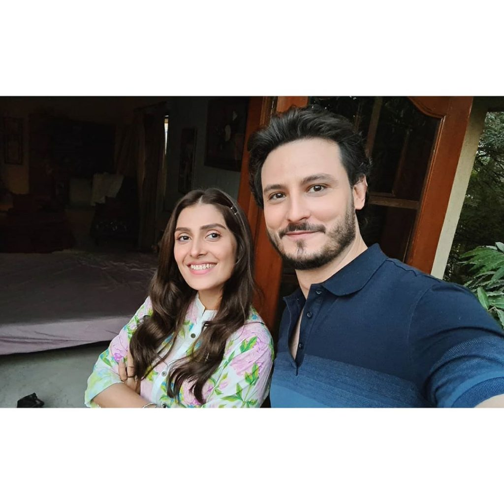 Ayeza Khan And Osman Khalid Butt Paired Up Together For A New Drama Serial