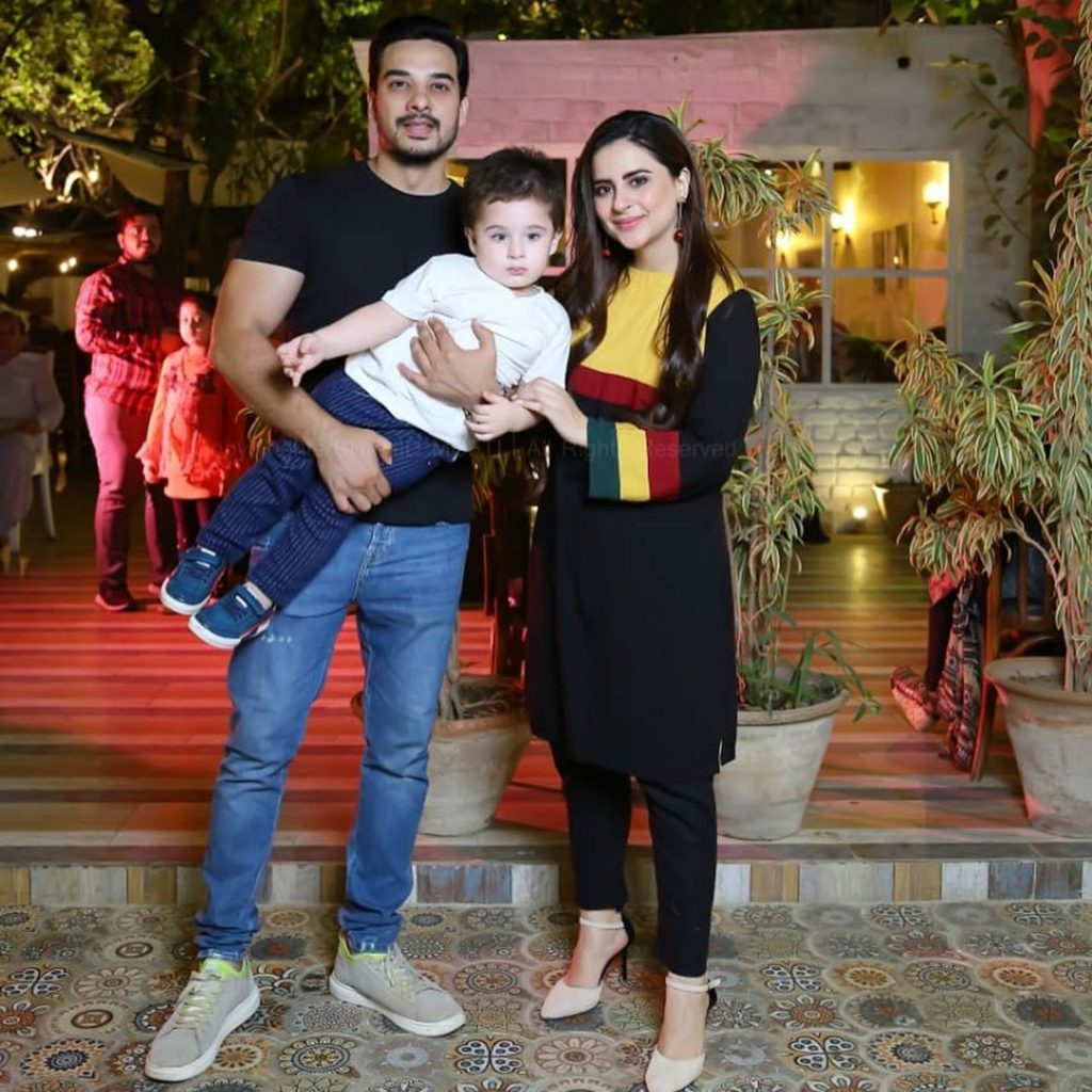 Fatima Effendi Latest Clicks With Her Family