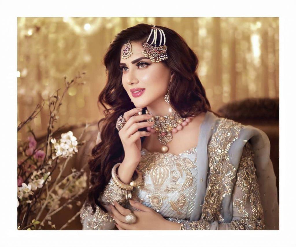 Fiza Ali Chosen As A Model For The Latest Shoot Of Hadiqa Kiani Salon