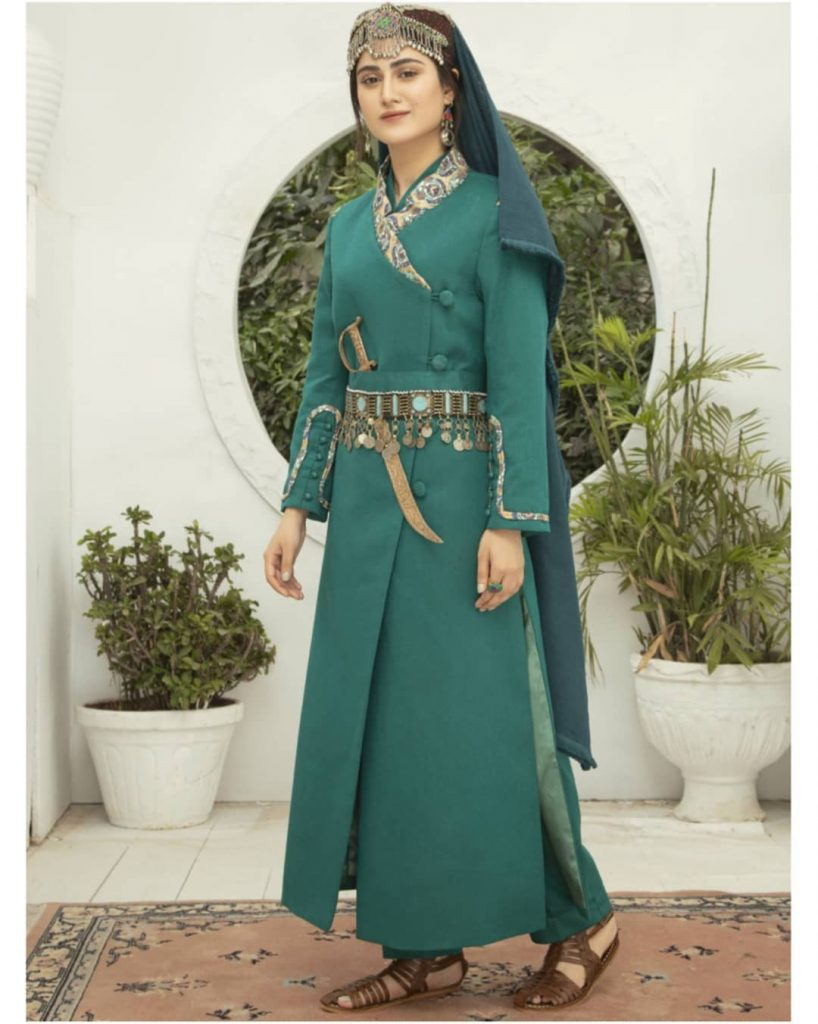 Dastaan Apparel Has Introduced A Collection Inspired From Halime Sultan