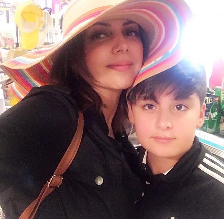 Hadiqa Kiani Wishes Her Son On His Fifteenth Birthday