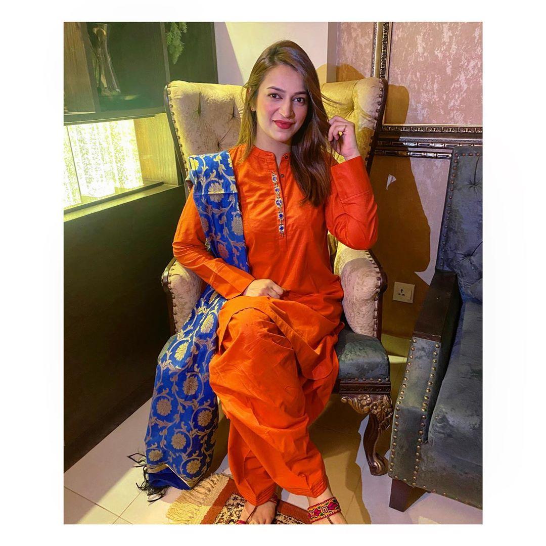 Drama Actress Hiba Khan Got Married - Beautiful Pictures
