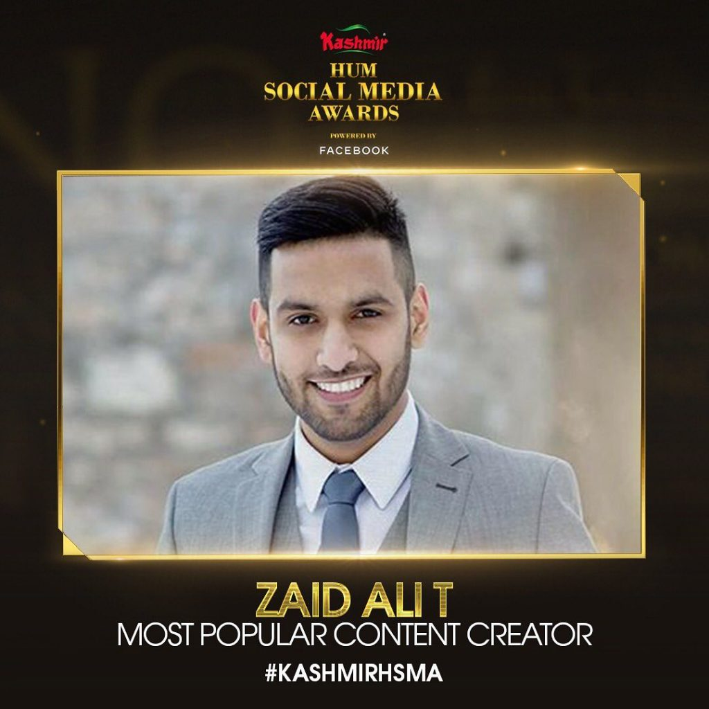 Zaid Ali Won The Social Media Award But Fans Are Not Tolerating It