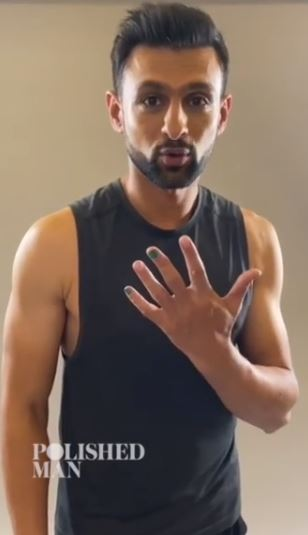 Male Celebrities Wear Nail Polish For An Important Cause