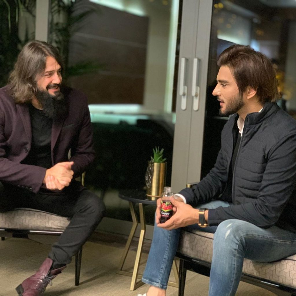 Imran Abbas Meets The Famous Turkish Star