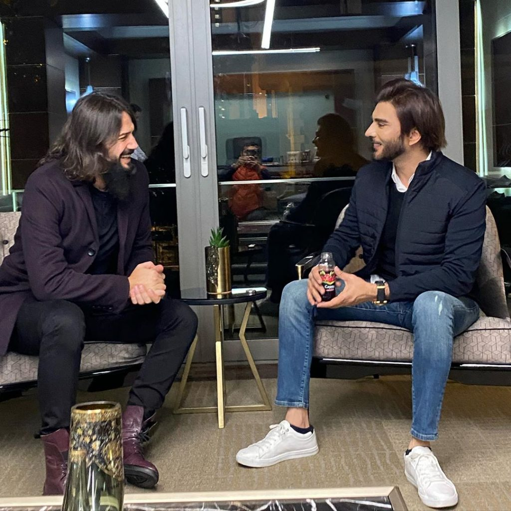 Imran Abbas Meets The Famous Turkish Star