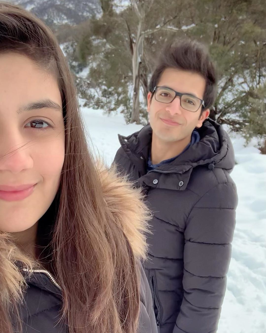 Urwa and Mawra Hocane Brother Inse Yazdan with his Wife