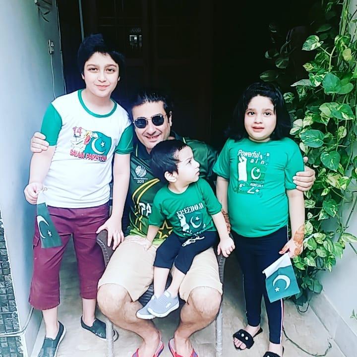 Kamran Jeelani Celebrates His Sons Birthday