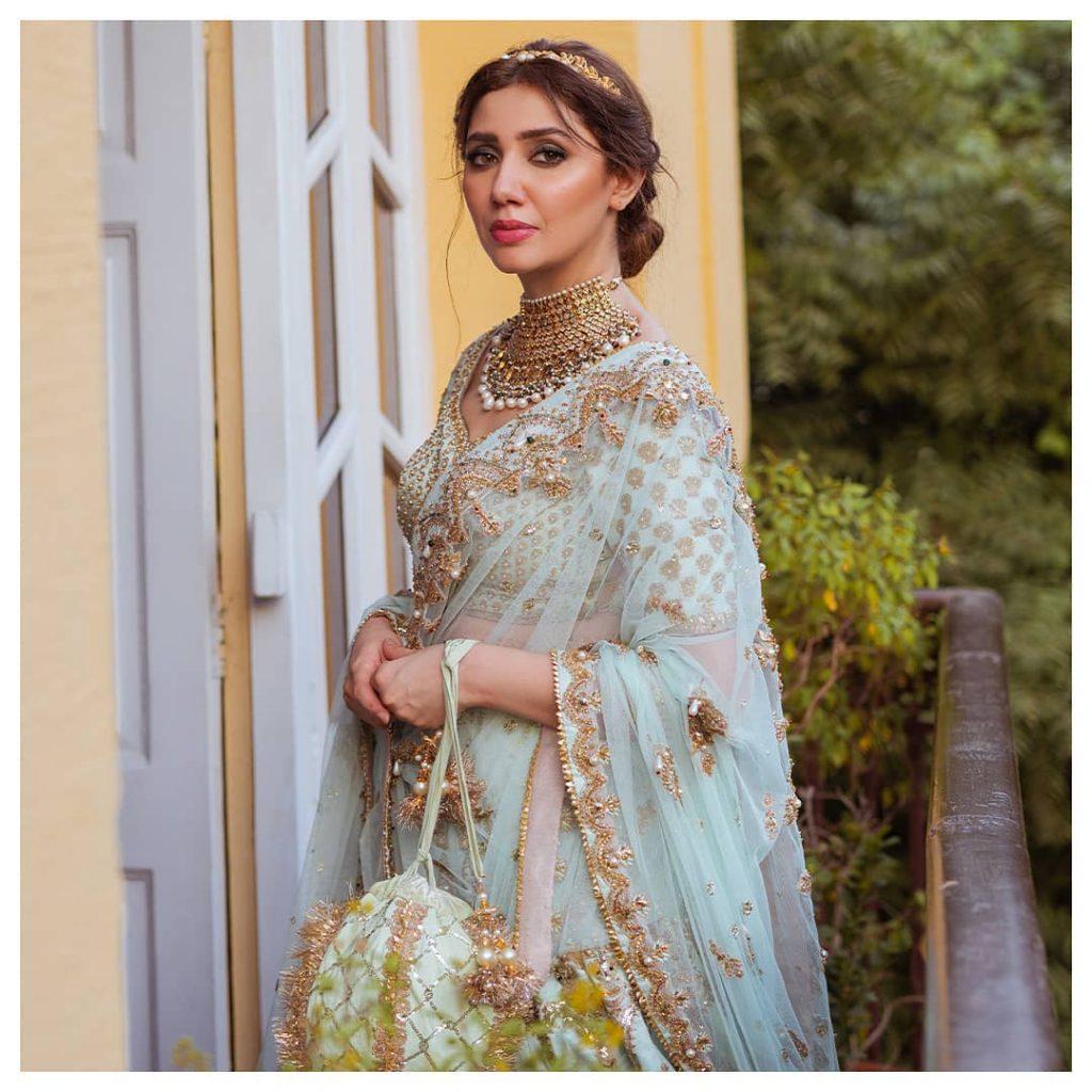 Mahira Khan Stuns In MNR Latest Bridal Collection