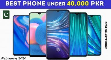best-smartphones-under-40000-in-pakistan