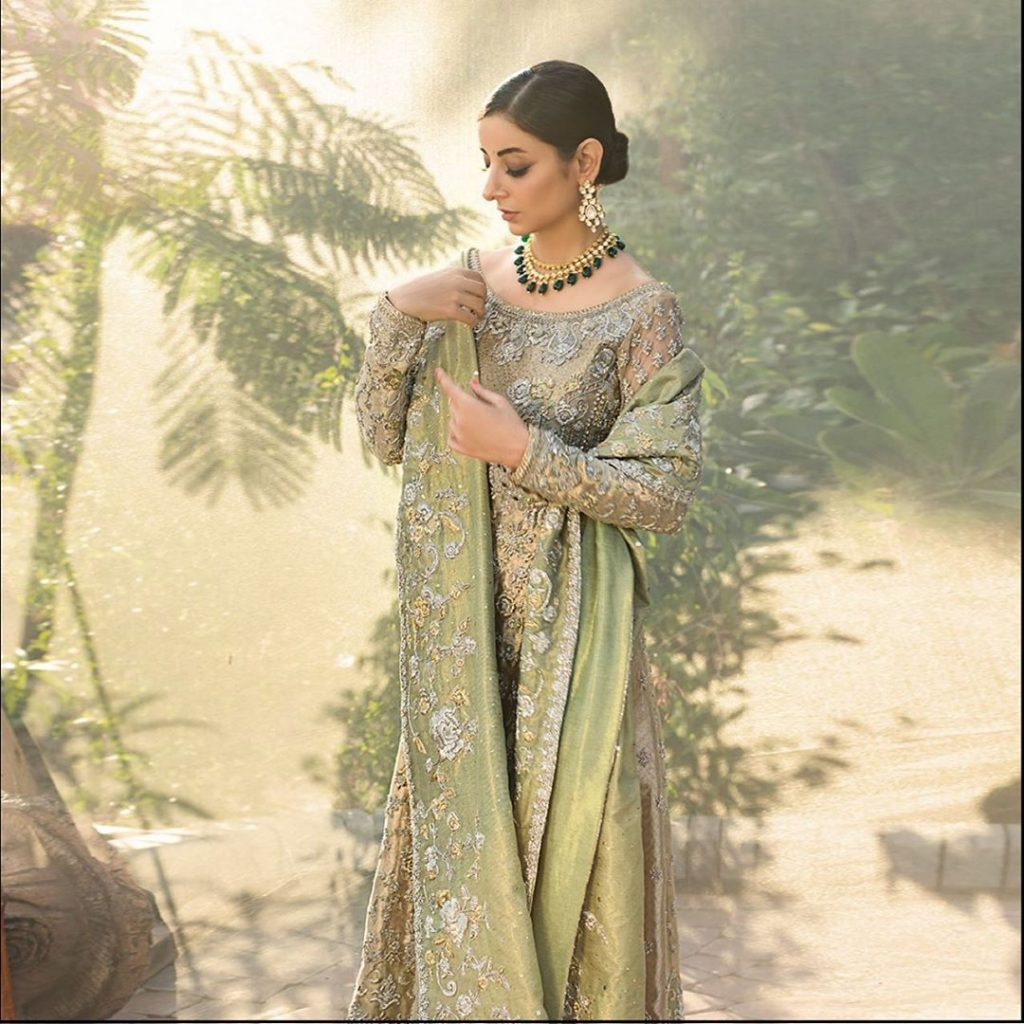 Sarwat Gilani Spotted Sparkling In Her Latest Bridal Shoot