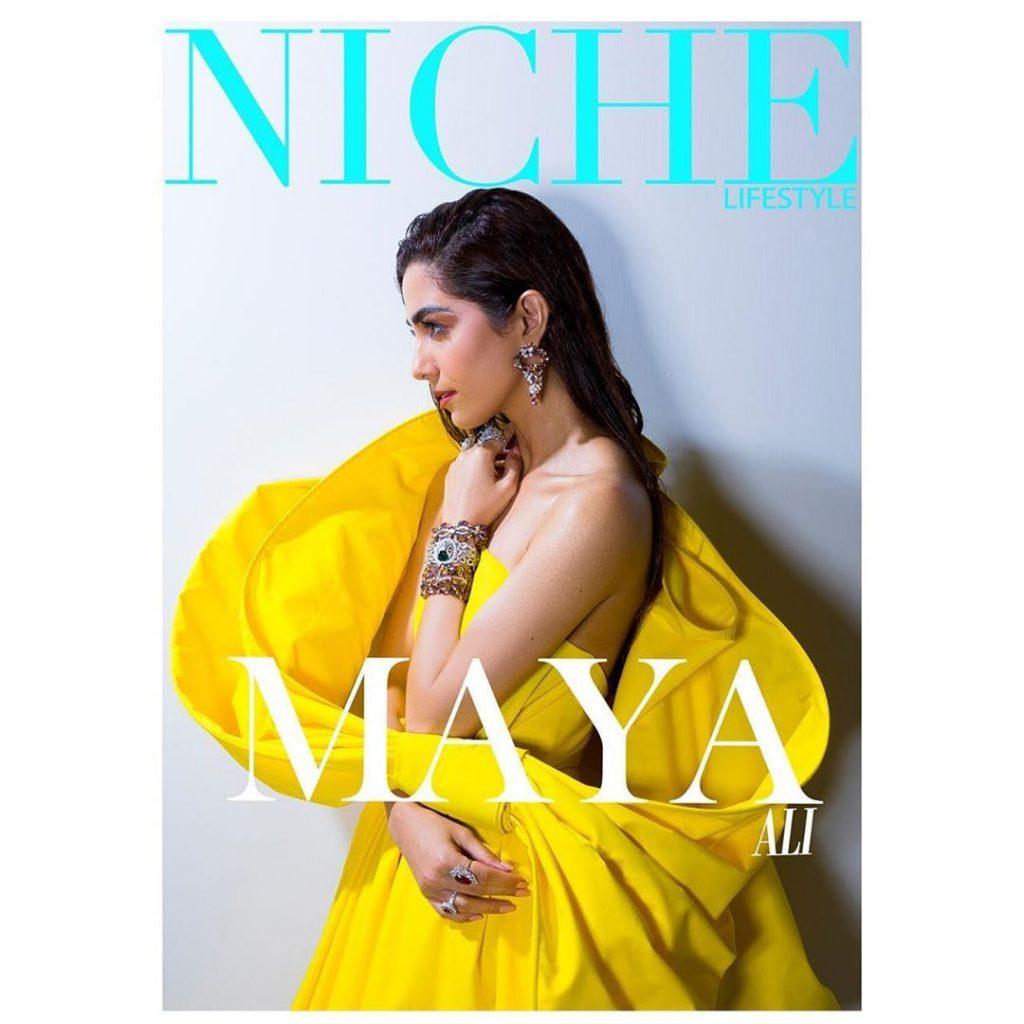 Stunnig Maxi Collection of Maya Ali