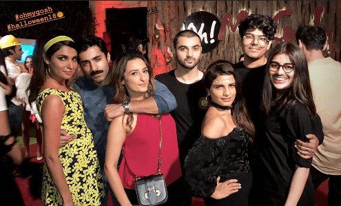 Pakistani Celebrities At Halloween Parties