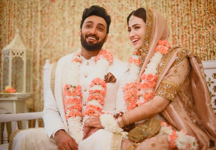 Siblings Of Sana Javed At Her Wedding