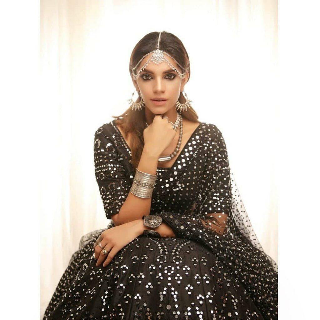 Sanam Saeed Looks Mesmerizing In Her Latest Shoot