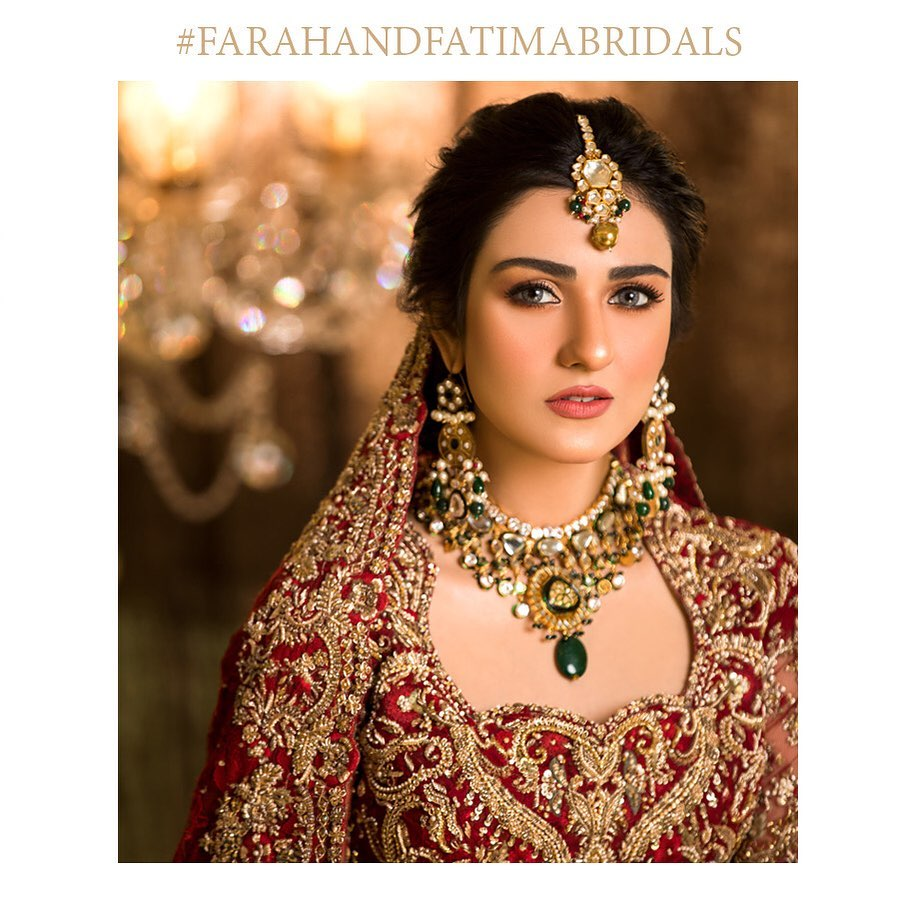 Gorgeous Sarah Khan Looks Radiant In Her Latest Bridal Shoot