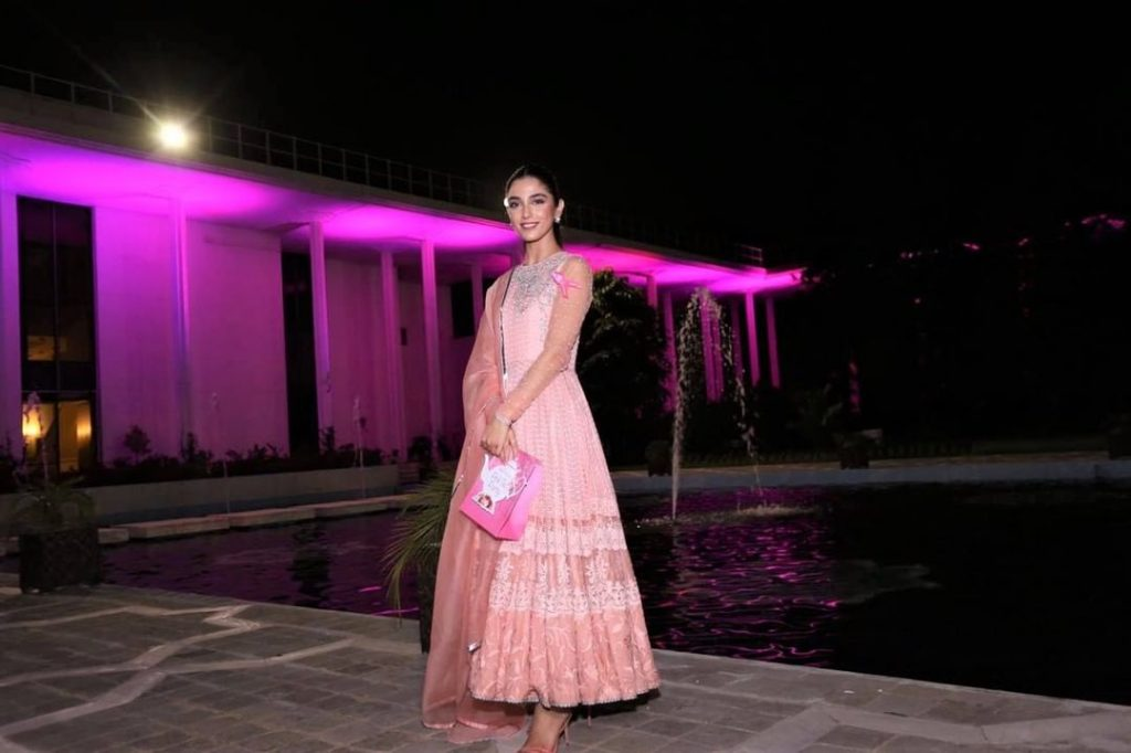 Maya Ali Spotted At Breast Cancer Awareness Event