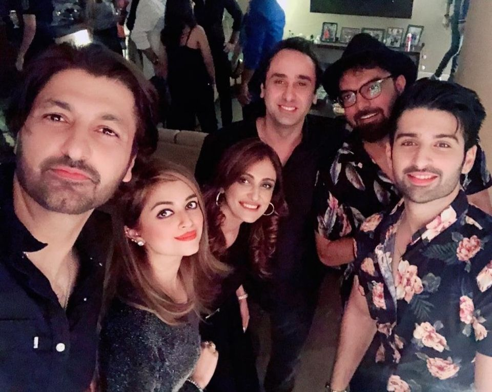 Celebrities Spotted at Birthday Party of Director Wajahat Rauf