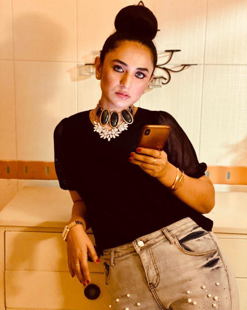 Yumna Zaidi Experimented With Her Look