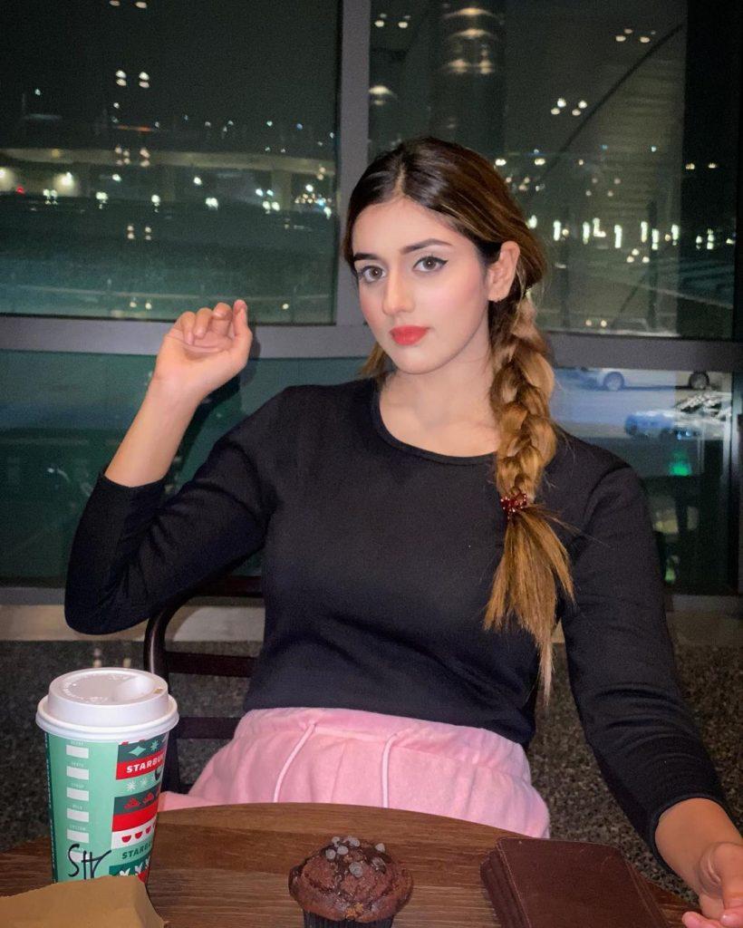 Jannat Mirza Shared Thoughts About Areeka Haq