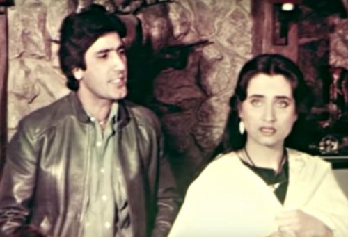 Young Age Photos Of The Handsome Javaid Sheikh