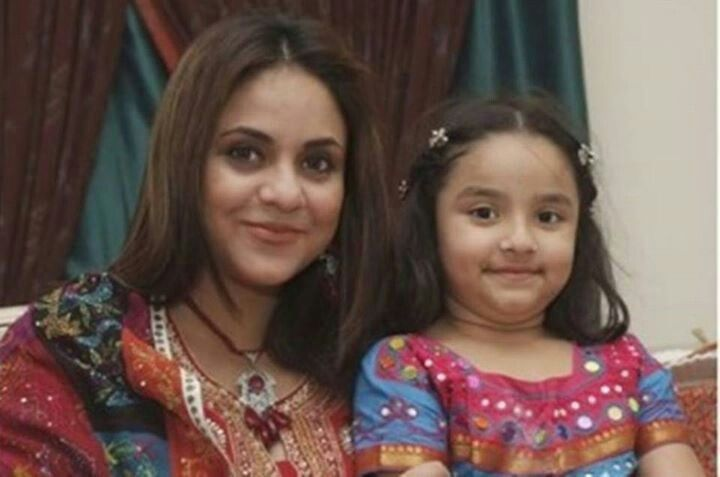 Lovely Pictures of Nadia Khan with her Kids and Dog
