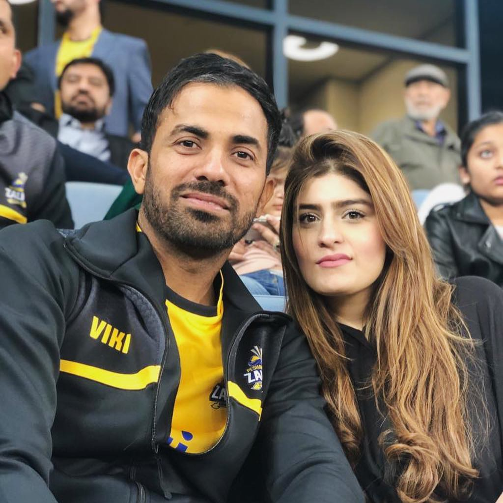 Wahab Riaz  Wife | 20 Lovely Pictures