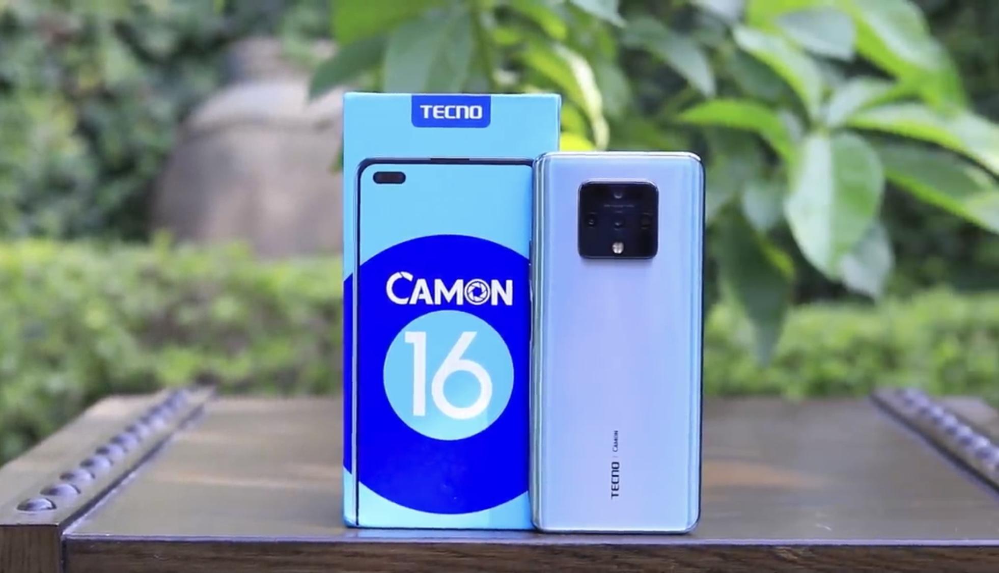 Tecno Camon 16 Price in Pakistan and Specs