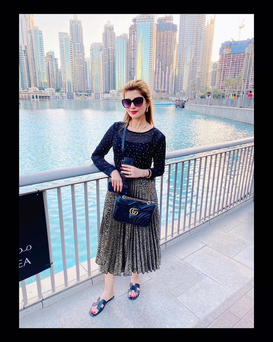 Syed Jibran Wife Afifa Jibran - Latest Pictures from Dubai