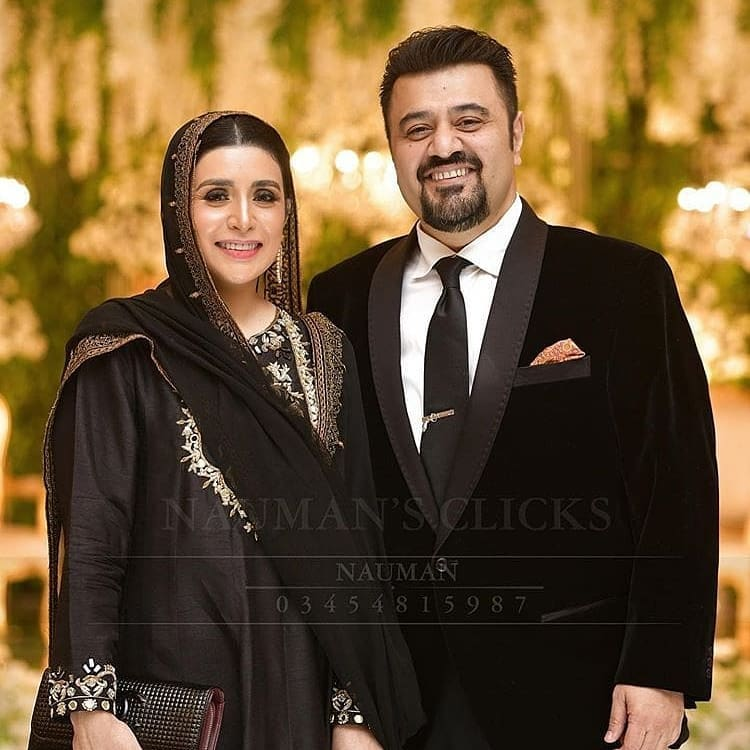 Ahmed Ali Butt Wished Wedding Anniversary To Wife In Sweet Note