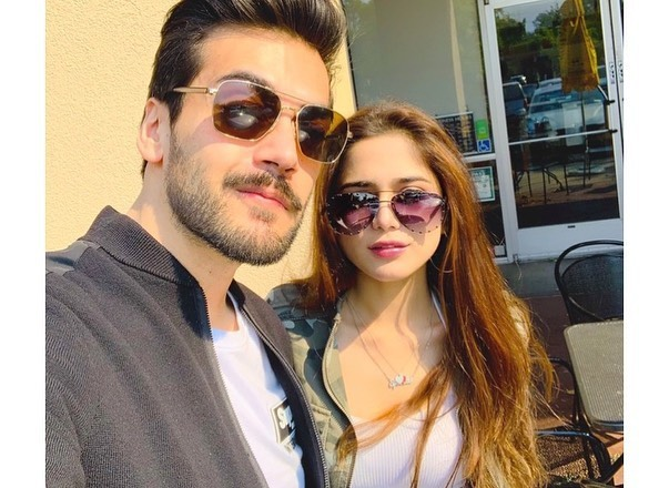 Aima Baig And Shahbaz Shigri Giving Couple Goals In Latest Pictures