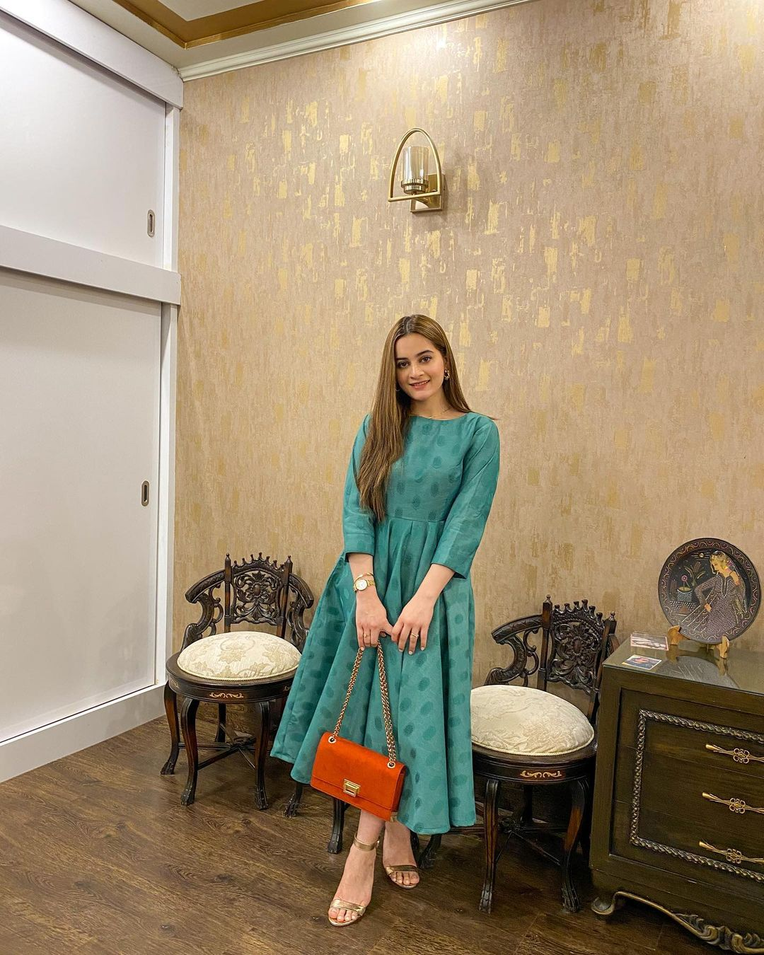 Aiman Khan Latest Pictures in her own Brand Aiman Minal Closet