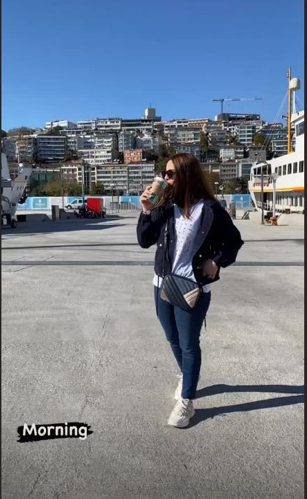 Aiman Khan and Muneeb Butt in Turkey – Day 3