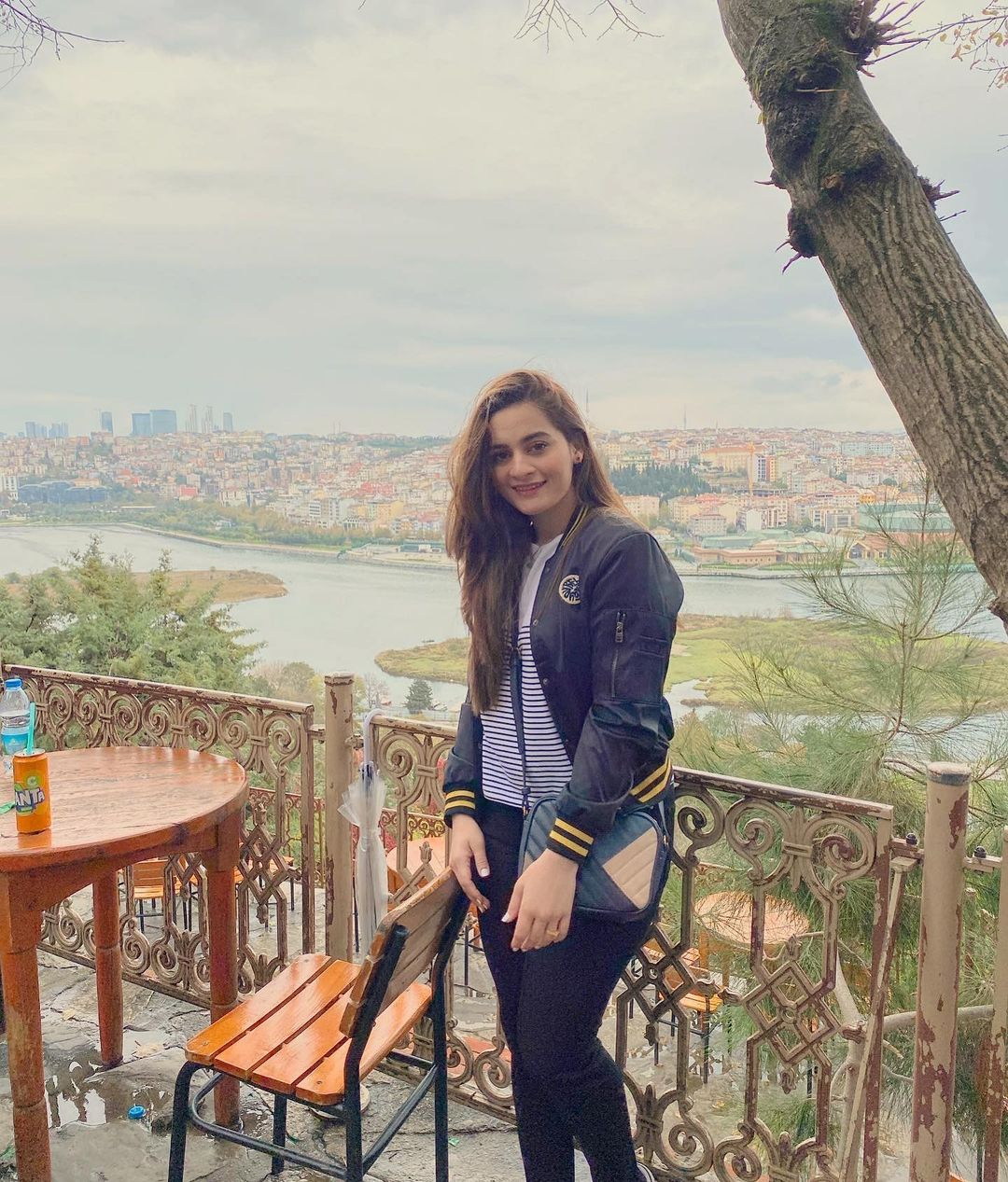 Aiman Khan and Muneeb Butt in Turkey – Day 4