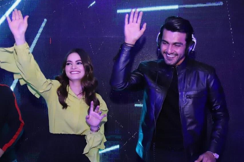 Aiman Khan and Minal Khan Birthday Party