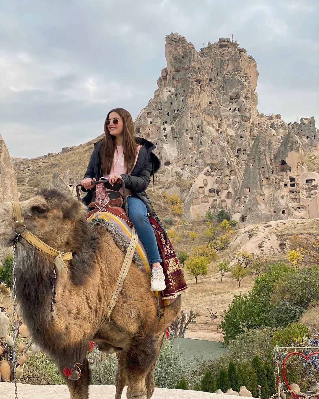 Aiman Khan and Muneeb Butt in Capadokia Turkey