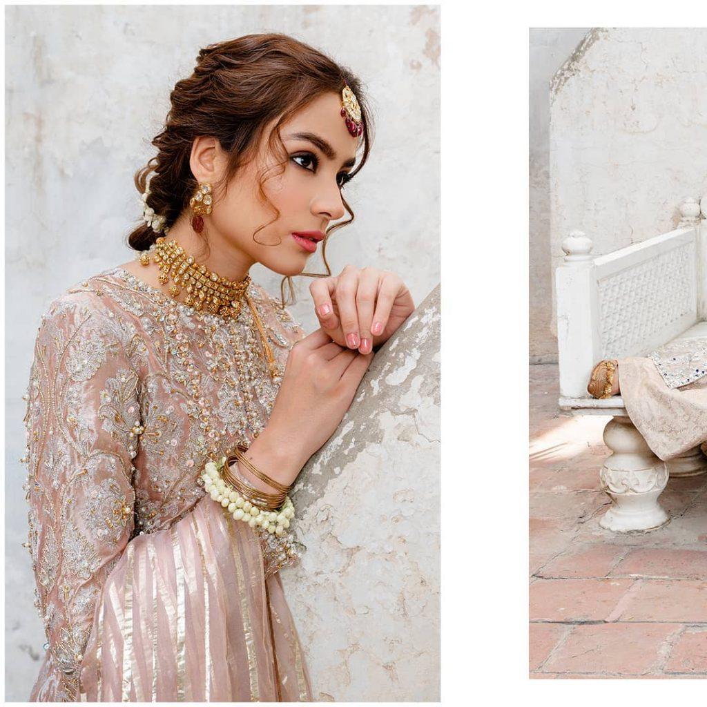Alyzeh Gabol Stuns In Festive Collection By Kanwal Malik