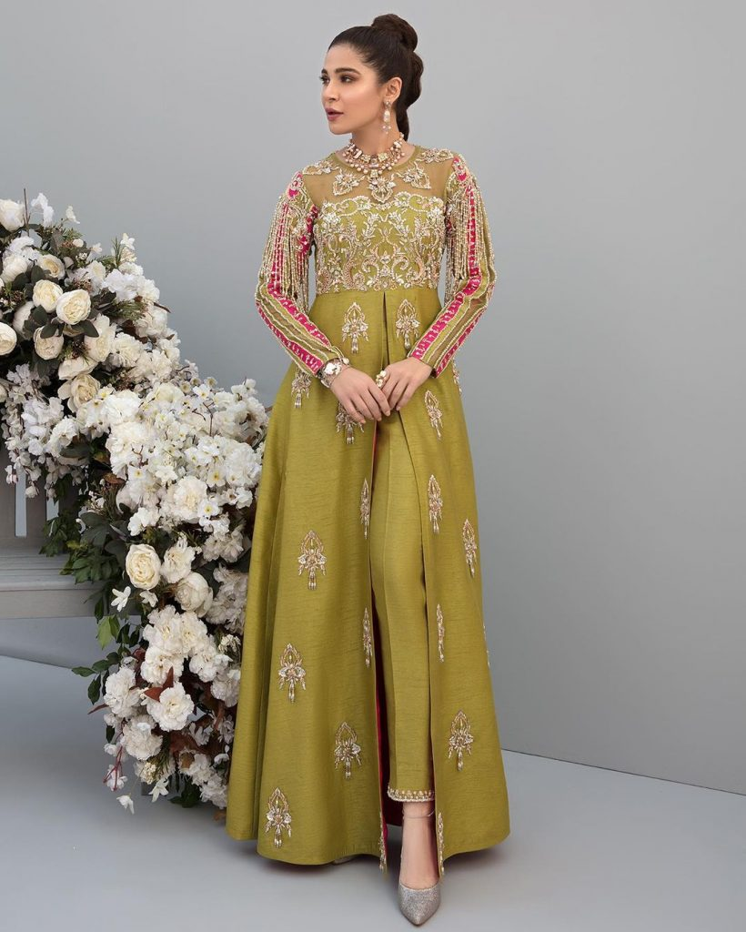 Ayesha Omar Featured In Raveena Collection By Kanwal Malik