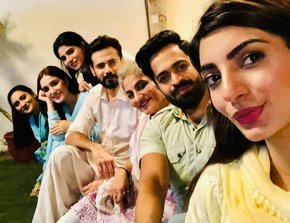 BTS Pictures Of Upcoming Drama Serial Faryaad