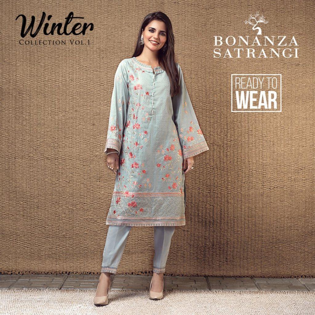 Bonanza Satrangi Winter Collection 2020 | Prices And Pics