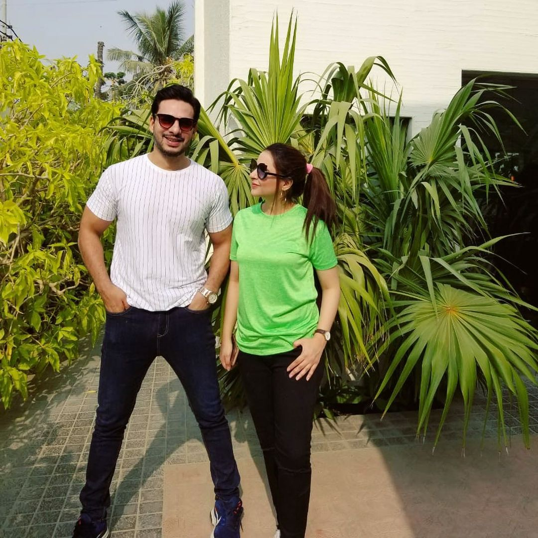 Fatima Effendi and Kanwar Arsalan - Latest Beautiful Pictures