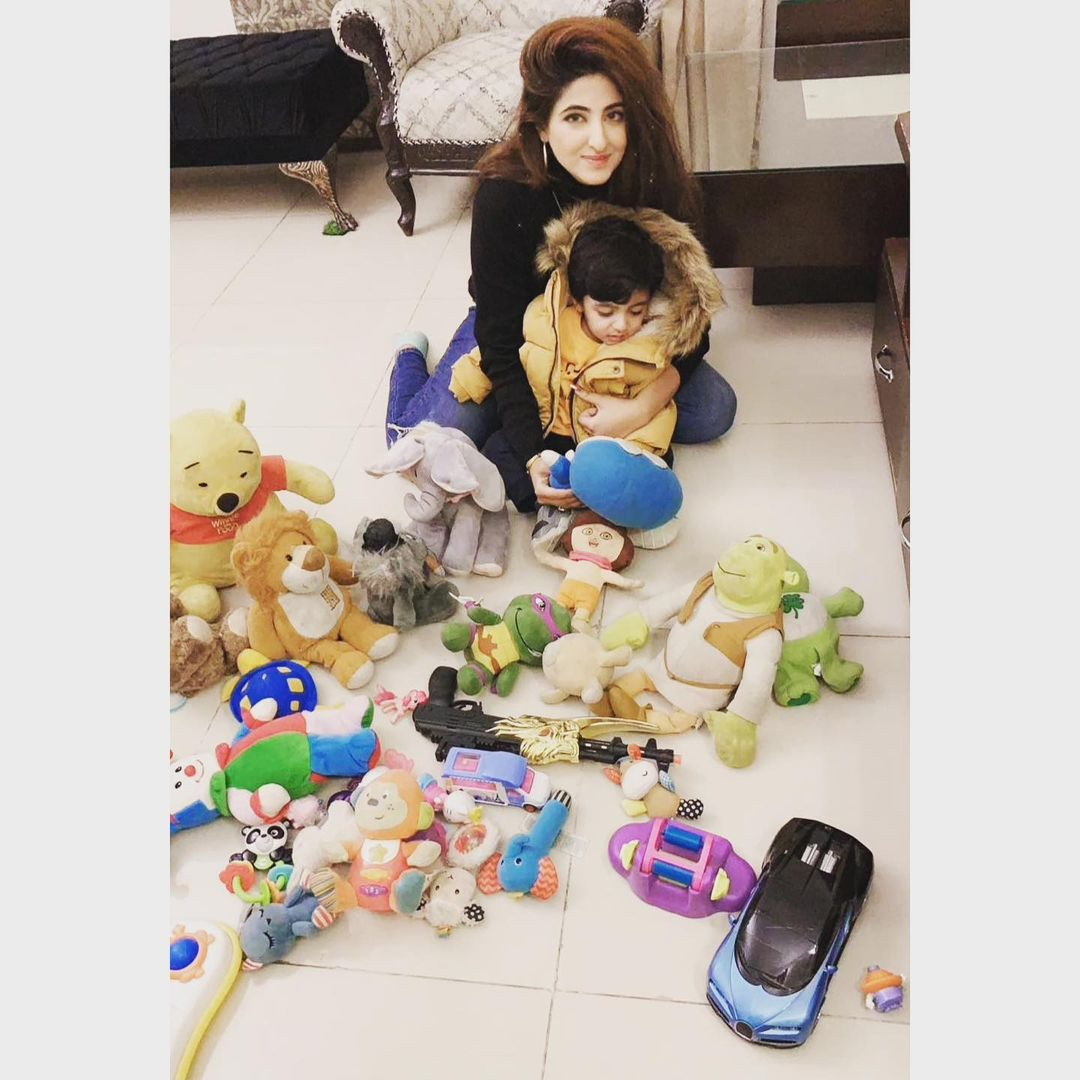 Fatima Sohail with her Son - Latest Pictures